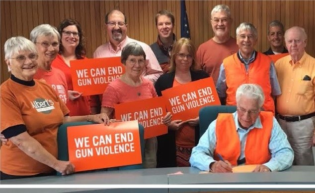 Northeast Iowa Peace and Justice Center organized a proclamation.